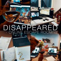 Online Escape Room – Disappeared
