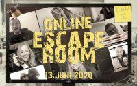 De Online Escape Room op 13 juni 2020